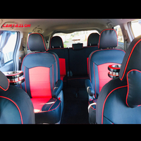 CARTAILOR Car Seat Cover for Toyota Sienna Seat Covers Cars Styling Seats Protector Cowhide Auto Accessories Set 2004 2019 Year