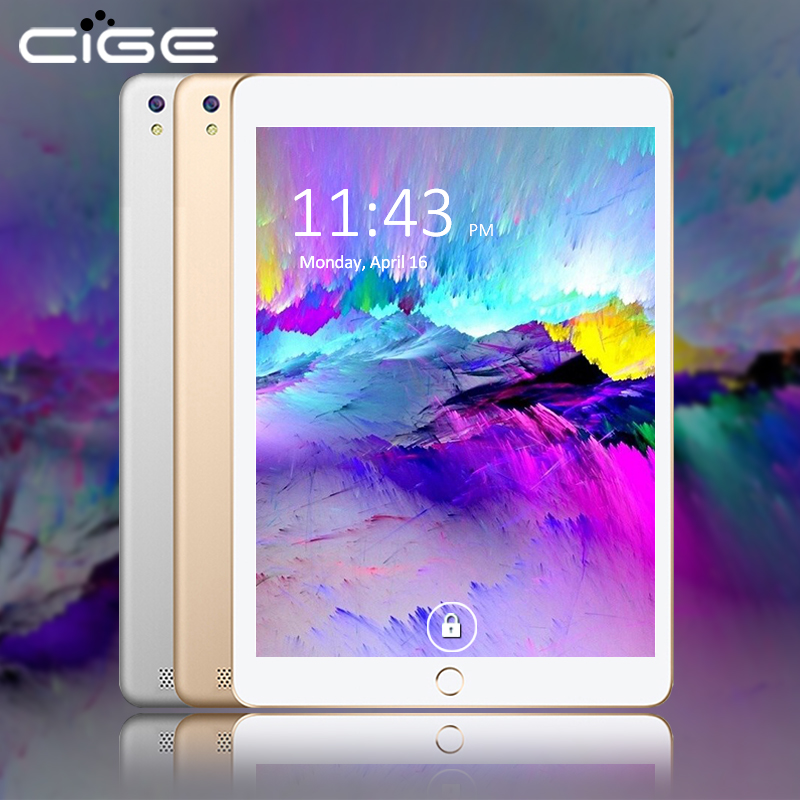 CIGE 10.1 Inch 3G Phablet 800*1280 Octa Core Android 6.0 4GB RAM 32GB 64GB ROM T Dual Camera WIFI BT Dual SIM Tablet PC cige a6510 10 1 inch android 6 0 tablet pc octa core 4gb ram 32gb 64gb rom gps 1280 800 ips 3g tablets 10 phone call dual sim