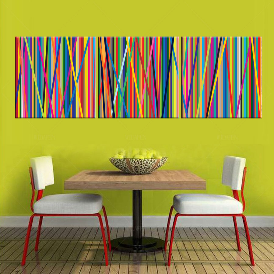 handmade poster modular picture 3 piece canvas art wall pictures ...