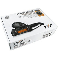 DHL Free shipping NEW TYT TH 9000D Walkie talkie VHF 136 174MHZ 45W 200CH DTMF 8 Group's Scrambler Mobile Car Radio