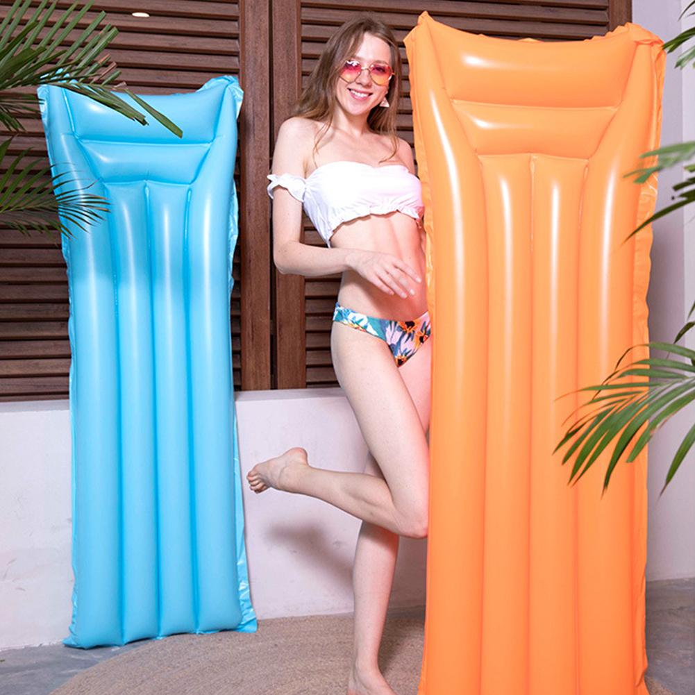 NEW Summer Inflatable Swimming Pool Beach Lounge Water Floating Cushion Mat Bed