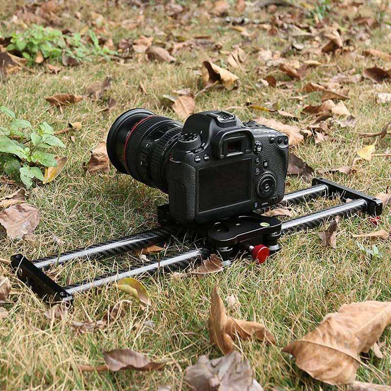 15.7Inch Carbon Fiber Camera Slider Track with 4 Roller Bearing for Video Movie Making XM6615.7Inch Carbon Fiber Camera Slider Track with 4 Roller Bearing for Video Movie Making XM66