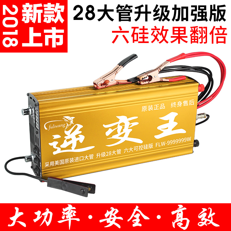 New Type 2018 Multi function 12V Inverter Head High Power and Economical Electronic Boost Converter