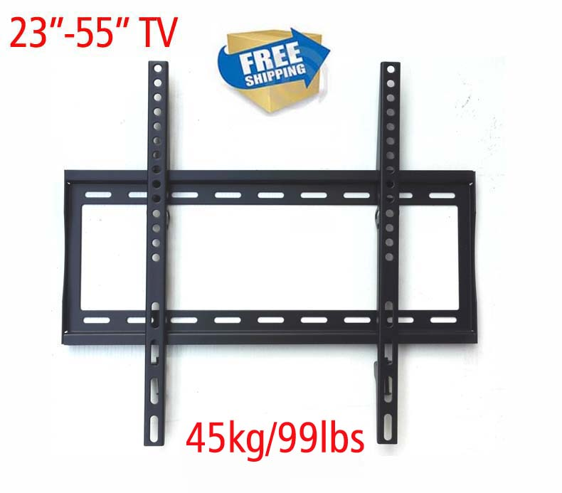 (RU) free shipping PTB-6044F-2  23 inch 32inch 37inch 46inch 50inch lcd tv wall mount swivel led tv bracket shelf