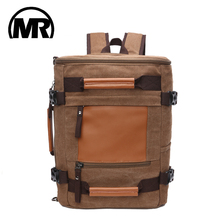 MARKROYAL New Travel Function Outdoor Canvas Men Shoulder Slung bag Large-Capacity And Women Retro Hike Package