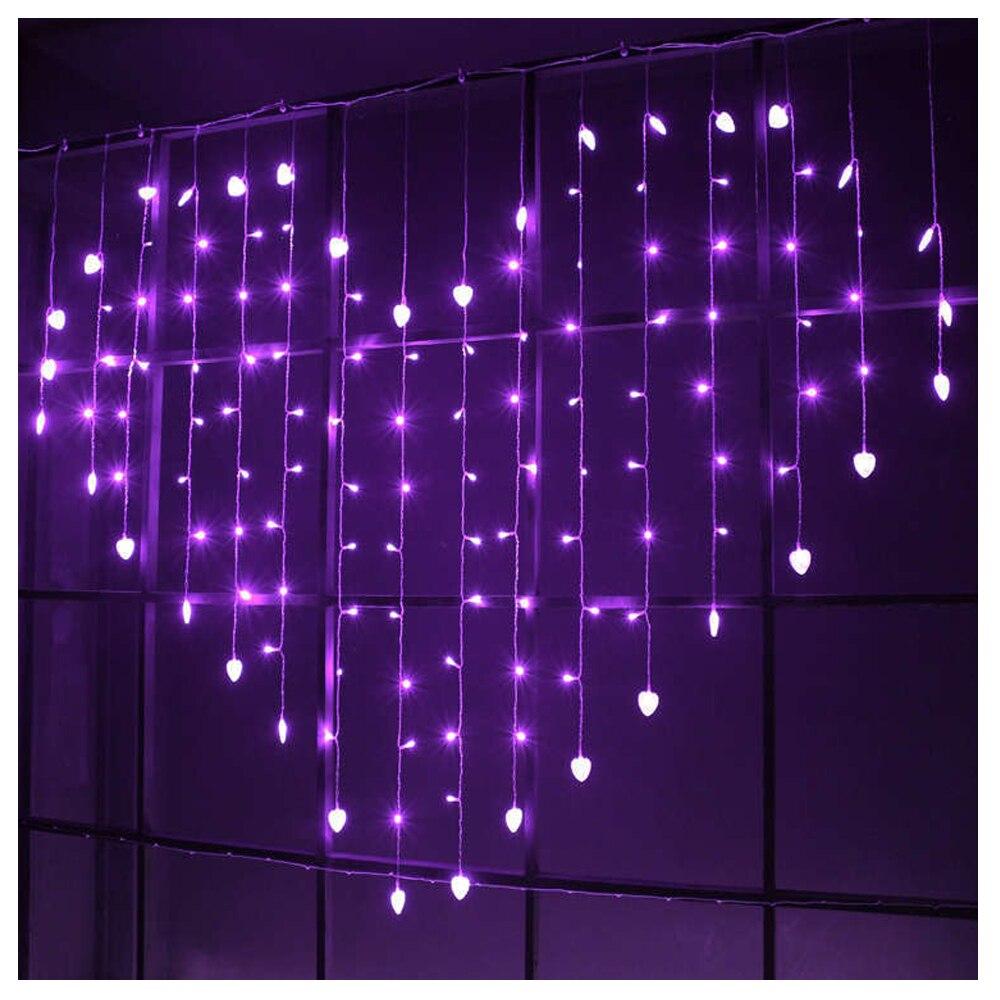 luzes com 8 modos de iluminação led
