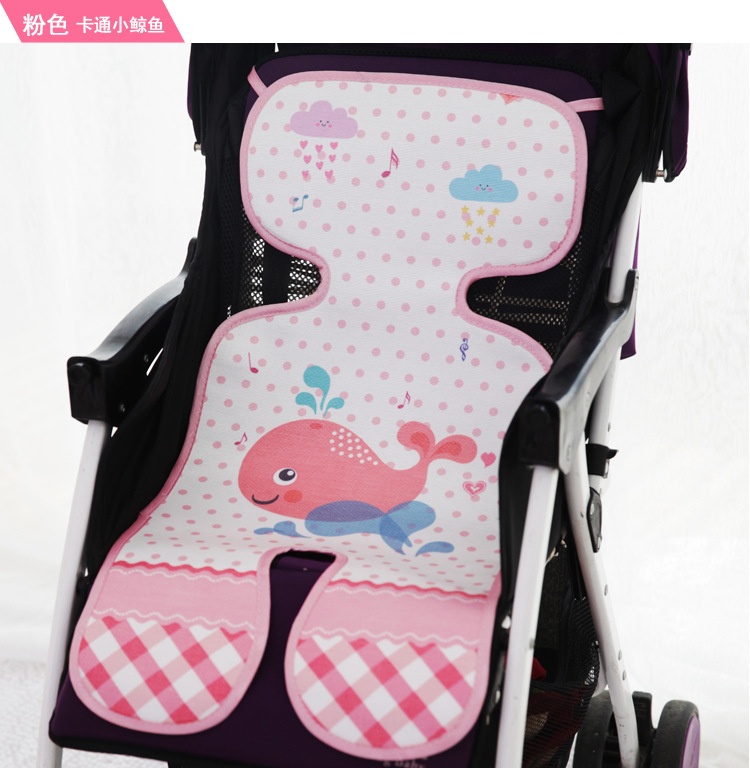 Baby stroller pram seat ice silk mat car mat silk umbrella car newborn mat nature mat good for baby 2018