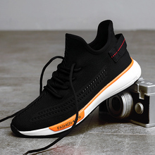Mens Sneakers Casual Shoes Autumn Breathable Black Shoes for men Lace Up Flats Fashion designer Male Footwear New 2018 Walkerpea