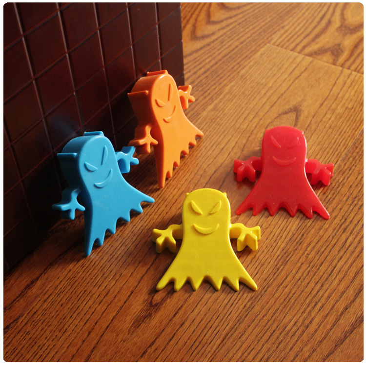 Cartoon Modeling Silica Gel Demon Door Stopper Baby Safety Supplies Protect Baby Children Kid Safe