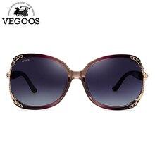 d9880ebabf207 VEGOOS Óculos De Sol Das Mulheres 2018 Designer de Marca Polarizada óculos  de Sol para As Mulheres Tamanho Grande Quadro Oval Óc..