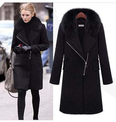 Womens Long Black Jacket | Jackets Review