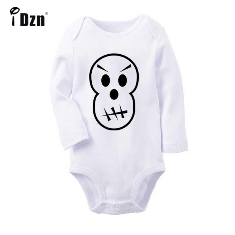 Улица хип-хоп для мальчиков Хэллоуин вечерние черный паук для новорожденных боди для малышей Одежда с длинным рукавом Onsies комбинезон одежда из хлопка