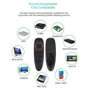 Image 3 - G10s голосовое дистанционное управление 2,4G Беспроводная воздушная мышь микрофон гироскоп ИК обучение для Android tv box T9 H96 Max X96 mini