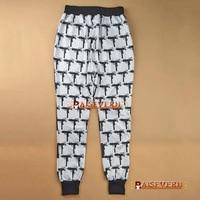 raisevern новый 3д сталкивателем брюки для девочек тема 2pac/бигги бэтмен/человек-пак/смайлики/Иордания печать мужской одежды бандана джоггеры мела