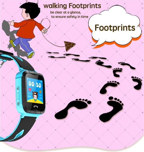 Фото детские смарт часы с gps водонепроницаемые фонариком сенсорным цена