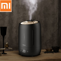 Xiaomi DEERMA Ultrasonic 5L Air Humidifier Air Purifying Mist Maker Household Aroma Oil Diffuser Ionizer Generator Aromatherapy