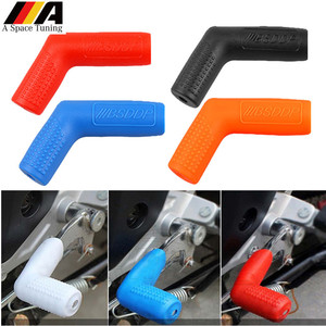 Universal Motorcycle Gear Shift Lever Rubber Sock Gear Shifter Boot Shoe Shift Case Protectors Covers Moto Replacement Patrs(China)