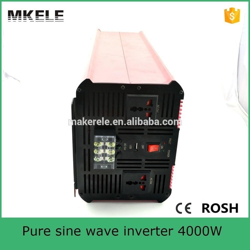 цена на MKP4000-241R low frequency power inverter 4000w inverter 24vdc to 120vac transformer inverter off-grid pure sine wave form