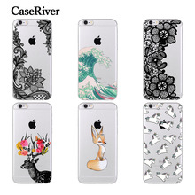 CaseRiver FOR iPhone 5 5S SE 6 6S 7 8 Plus X Case Cover, Soft Silicone Phone Case Cover For iPhone 6 S 6Plus 5 S E 7Plus 8Plus X