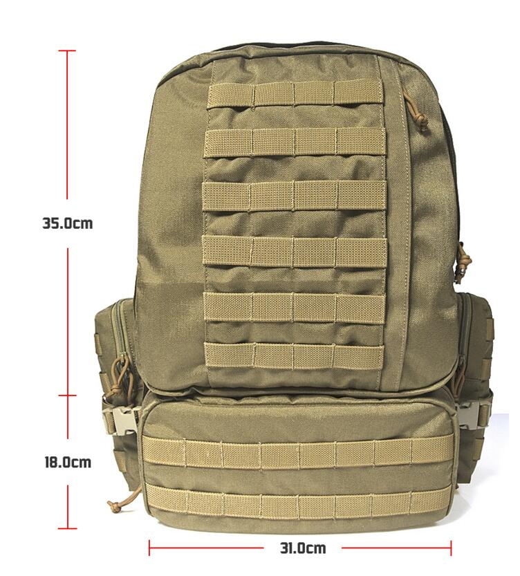 FLYYE MOLLE 3 Day Assult Backpack Military camping hiking modular combat CORDURA M008