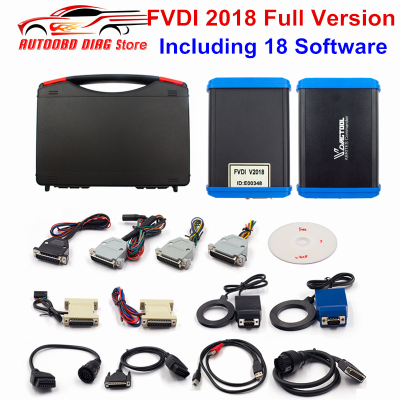FVDI 2018 Full Version Including 18 Software FVDI ABRITES Commander No Limited With V2014 2015 FVDI
