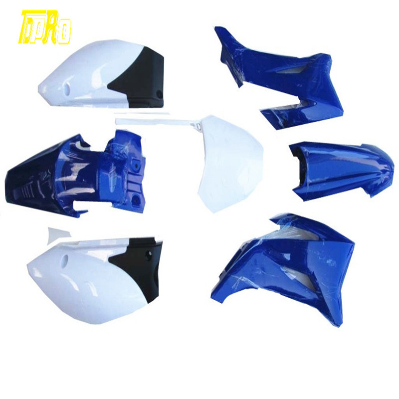 New Blue TTR 110 Style Plastics Fairing for Yamaha 110/125/140/150/160/200 cc Pit Bike image