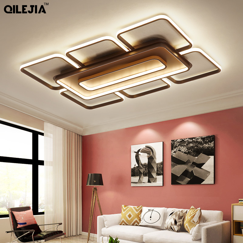 Acrylic LED Ceiling Light For Living Room Bedroom remote control Modern Led Lamp Home Lighting Luminarias