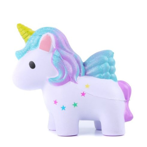 Soft Slow Rising Squishy Kids Cute Lovely Jumbo Big Rainbow Galaxy Unicorn Cartoon Animal Squishy Toys With Scented funny cute mini cartoon tpr animal jumbo squishy toy