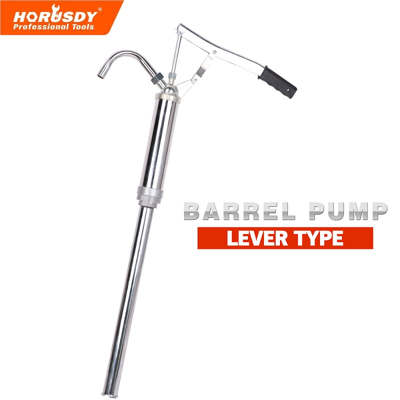 55 Gallon Hand Lever Action Drum Barrel Pump Self Dispense Diesel Oil Fuel Tank