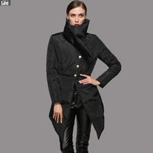 Women down jacket fashion show style personality high-end brand fashion down jacket