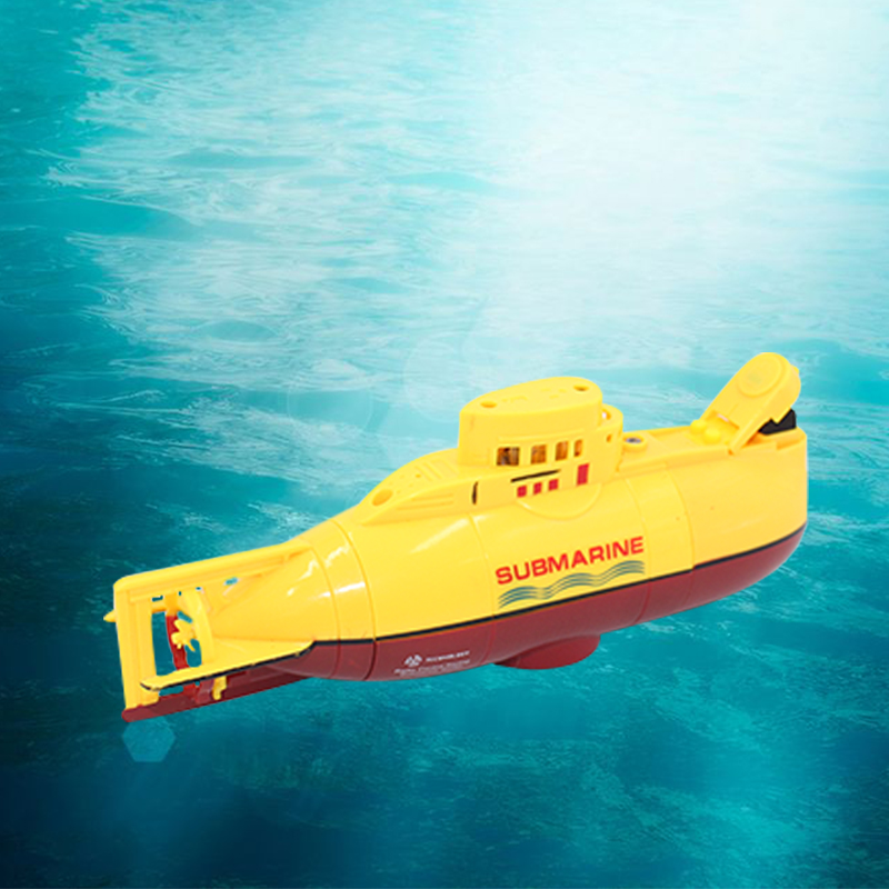 RC boat Mini Submarine RC Speedboat High Powered 3.7V Large Model RC toys Submarine Outdoor with the Model Electric Kids toy image