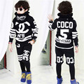 2017 Boys clothing set children's sports suits cotton kids clothes suit boys tracksuit teenage girls clothing children fashion