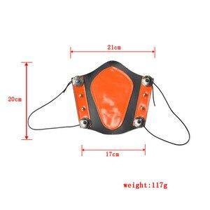 Image 2 - 1pc épaissi peau de vache bras garde élasticité réglable professionnel tir à larc bras sécurité équipement de protection