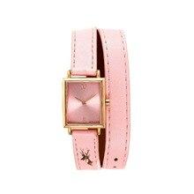 Genva rose de oro las mujeres famosa marca de lujo del deporte wathces reloj de pulsera para las mujeres del oro reloj de pulsera de cuero 2016 mujeres