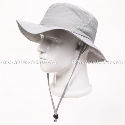be66b2bf265a3 Wholesale Men Blank Bucket Hat With String Women Plain Solid Color