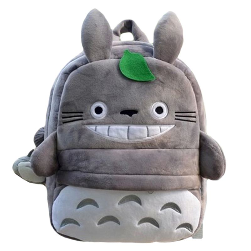 Totoro Children Backpack Plush Baby School Bag Teenagers Shoulder Bag Kid Hayao Miyazaki Toys Boy Girl Schoolbags Mochila BP0175