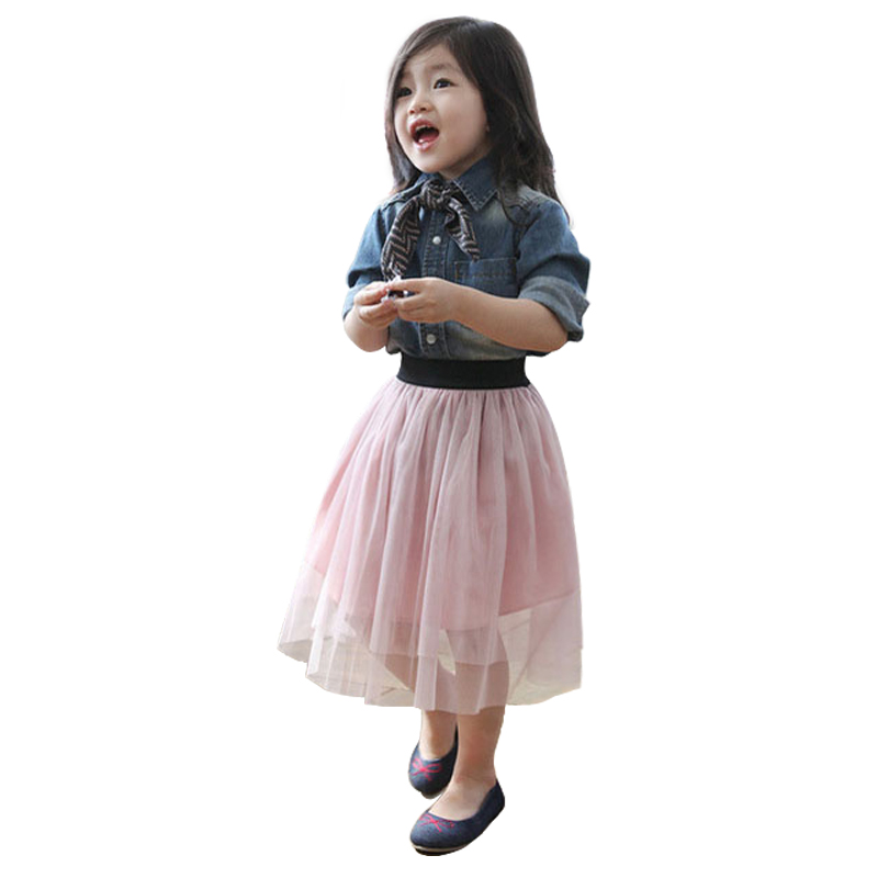 2019 New Hot Summer Baby Girl Tulle Skirt Children