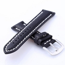 24mm 26mm Watchbands Retro Genuine Leather Brown Men 20mm 22mm 24mm Soft Watch Band Strap Metal Pin Buckle Accessories Relojes все цены