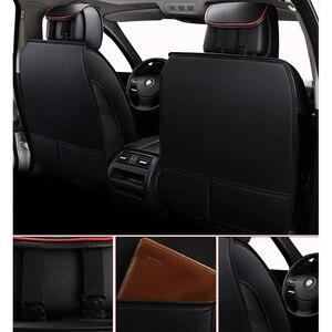 Image 4 - (Спереди и сзади) Специальные кожаные чехлы на автомобильные сиденья для Chevrolet Onix 2018 2013 прочные удобные чехлы на сиденья для Onix 2016