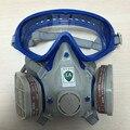 Silicona respirador máscara de gas de pesticidas de pulverización de pintura pintura de la cara llena máscara de filtro de carbón de gas boxe protect mask