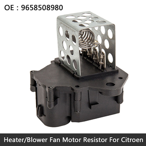 New Radiator Fan Cooling Resistor For PEUGEOT 207 307 308 9659799080 8241001(China)