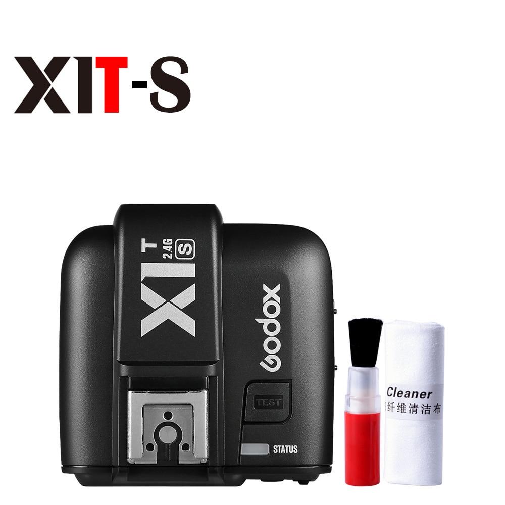 Godox X1T S 2.4G HSS TTL sans fil caméra Flash Speedlite transmetteur déclencheur pour Sony A77II A7RII A7R A58 A99 A68 A7RIII A7SII-in Déclencheur from Electronique    1