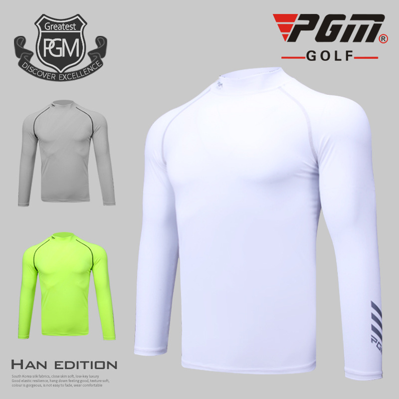 2018 PGM Golf Clothing mens golf t shirts Summer Sunscreen Breathable Undershirt mens Long Sleeved t shirt Size M-XXL