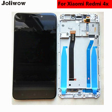 tested! For Xiaomi Redmi 4X LCD Display+Touch Screen+frame+Tools   Digitizer Assembly Replacement original for meizu m2 mini mtk6735 lcd display touch screen frame tools tested digitizer glass lens assembly replacement