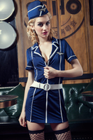 Sexy Costume Babydoll Erotic Lingerie Sexy Underwear Lenceria Sexy Lingerie Set Cosplay Air Hostess Airline Stewardess Uniform