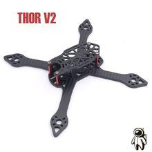 THOR V2 Loki V2 205mm structure X 5mm T700 En Fiber De Carbone Titianum Vis Cadre Kit Pour Split Swift Mini Caméra Drone Quadcopter