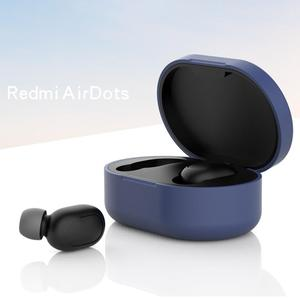Image 2 - Anti Shock Comprehensive Protective Case Full Cover For Xiaomi Redmi Airdots TWS Bluetooth Earphone Youth Headset Accessories