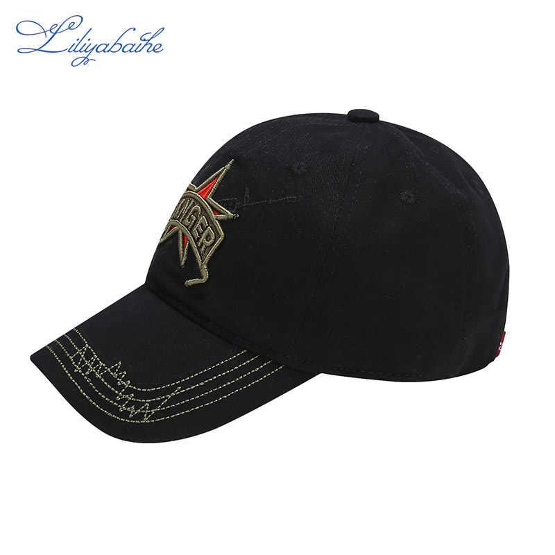 LILIYABAIHE модная Кепка унисекс хлопковая камуфляжная Бейсболка snapback с вышитым логотипом Регулируемая Кепка