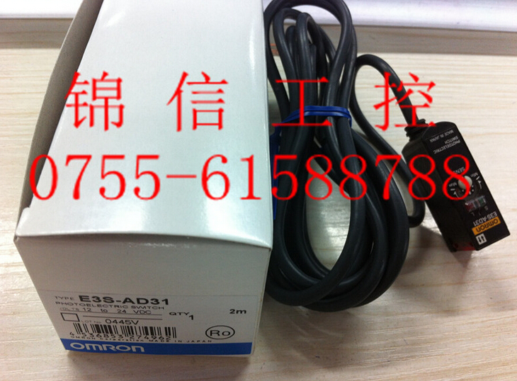 E3S-AD31  OMRON photoelectric sensor new and original e3x da11 s omron optical fiber amplifier photoelectric switch 12 24vdc