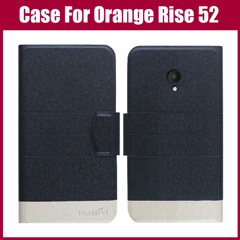 Hot Sale! Orange Rise 52 Case High Quality 5 Colors Fashion Flip Ultra-thin Leather Protective Cover Phone Bag